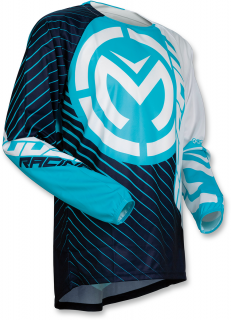 Motokrosový dres MOOSE RACING QUALIFIER BLUE/WHITE