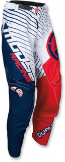 Motokrosové kalhoty MOOSE RACING QUALIFIER RED/WHITE/BLUE