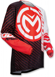 Motokrosový dres MOOSE RACING QUALIFIER RED/BLACK