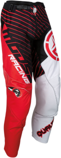 Motokrosové kalhoty MOOSE RACING QUALIFIER RED/BLACK