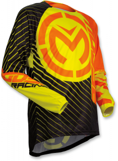 Motokrosový dres MOOSE RACING QUALIFIER ORANGE-HI-VIZ