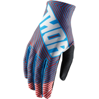Motokrosové rukavice THOR VOID GEOTEC BLUE/RED 2018
