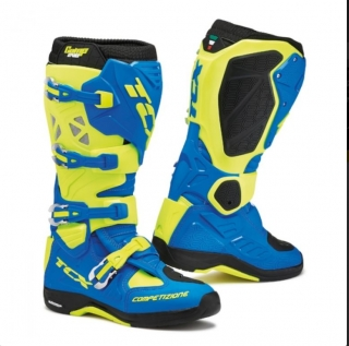 Motokrosové boty boty TCX COMP EVO MICHELIN® royal blue/fluo yellow