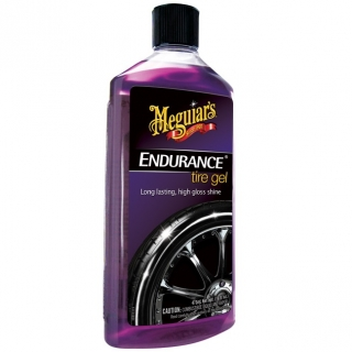 a Lesk na pneumatiky MEGUIARS Endurance High Gloss Tire Gel 473ml
