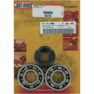 Sada ložisek a gufer HOT RODS KAWASAKI KX125 1988-2005