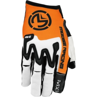 A Motokrosové rukavice MOOSE RACING MX1 ORANGE/BLACK vel. L