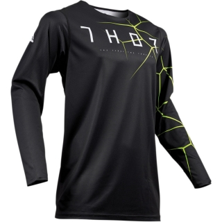 Motokrosový dres THOR PRIME PRO INFECTION BLACK/ACID