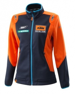 Dámská bunda KTM GIRLS REPLICA TEAM SOFTSHELL JACKET