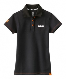 Dámské polo triko KTM GIRLS RACING POLO BLACK