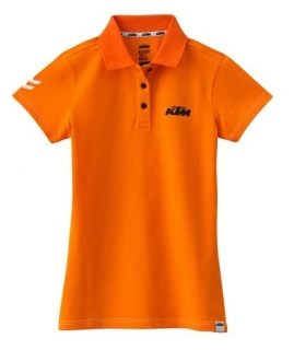 Dámské polo triko KTM GIRLS RACING POLO ORANGE