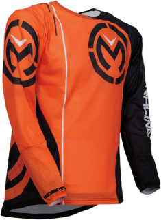 Ventilační motokrosový dres MOOSE RACING SAHARA ORANGE/BLACK