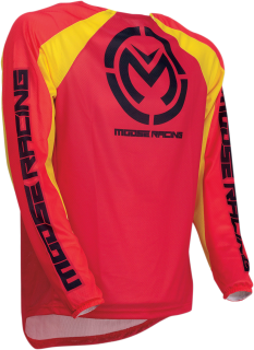Motokrosový dres MOOSE RACING M1 RED/YELLOW