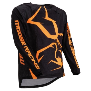 Motokrosový dres MOOSE RACING M1 AGROID ORANGE/BLACK
