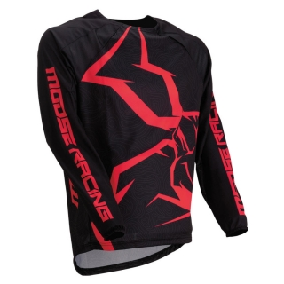 Motokrosový dres MOOSE RACING M1 AGROID RED/BLACK