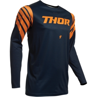 Motokrosový dres THOR PRIME PRO STRUT MIDNIGHT/ORANGE