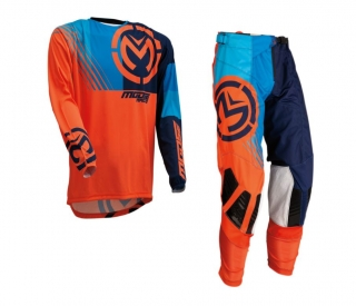 Motokrosový komplet MOOSE RACING M1 ORANGE/BLUE