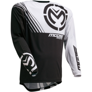 Motokrosový dres MOOSE RACING M1 BLACK/WHITE
